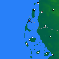 Nearby Forecast Locations - Sylt - Carte