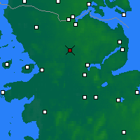 Nearby Forecast Locations - Eggebek - Carte