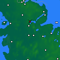 Nearby Forecast Locations - Schleswig - Carte