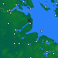 Nearby Forecast Locations - Schönhagen - Carte
