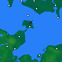 Nearby Forecast Locations - Marienleuchte - Carte