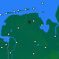 Nearby Forecast Locations - Wittmund - Carte