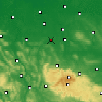 Nearby Forecast Locations - Salzgitter - Carte