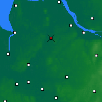 Nearby Forecast Locations - Bremervörde - Carte