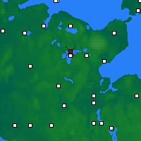 Nearby Forecast Locations - Plön - Carte