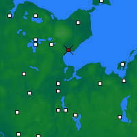Nearby Forecast Locations - Neustadt in Holstein - Carte