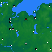 Nearby Forecast Locations - Grevesmühlen - Carte