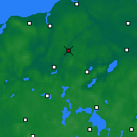 Nearby Forecast Locations - Laage - Carte