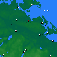 Nearby Forecast Locations - Greifswald - Carte