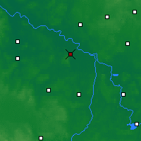 Nearby Forecast Locations - Seehausen - Carte