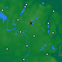 Nearby Forecast Locations - Feldberg - Carte