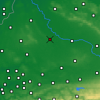 Nearby Forecast Locations - Münster - Carte