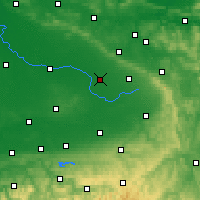 Nearby Forecast Locations - Gütersloh - Carte