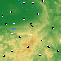 Nearby Forecast Locations - Büren - Carte