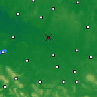Nearby Forecast Locations - Celle - Carte
