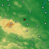 Nearby Forecast Locations - Halberstadt - Carte