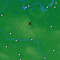 Nearby Forecast Locations - Bad Belzig - Carte
