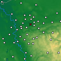 Nearby Forecast Locations - Gelsenkirchen - Carte