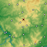Nearby Forecast Locations - Siegerland - Carte