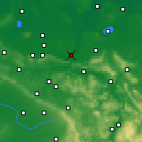 Nearby Forecast Locations - Minden - Carte