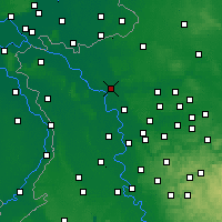 Nearby Forecast Locations - Wesel - Carte