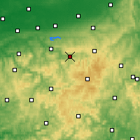 Nearby Forecast Locations - Meschede - Carte