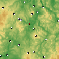 Nearby Forecast Locations - Fritzlar - Carte