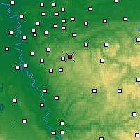 Nearby Forecast Locations - Schauenburg - Carte