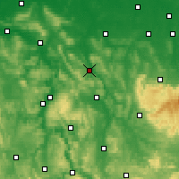 Nearby Forecast Locations - Alfeld - Carte