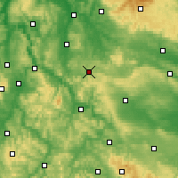 Nearby Forecast Locations - Heiligenstadt - Carte