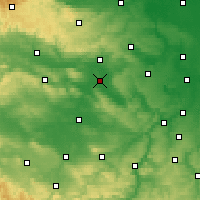 Nearby Forecast Locations - Artern - Carte