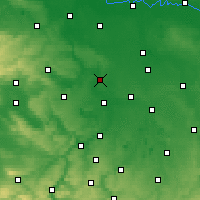 Nearby Forecast Locations - Halle - Carte
