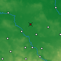 Nearby Forecast Locations - Herzberg - Carte