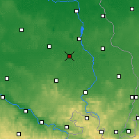 Nearby Forecast Locations - Hoyerswerda - Carte