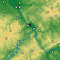 Nearby Forecast Locations - Neuwied - Carte
