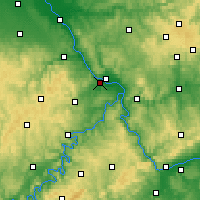Nearby Forecast Locations - Andernach - Carte