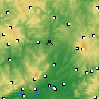 Nearby Forecast Locations - Giessen - Carte