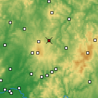 Nearby Forecast Locations - Lauterbach - Carte