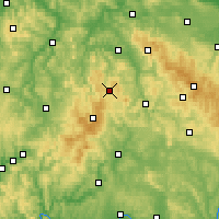 Nearby Forecast Locations - Kaltennordheim - Carte