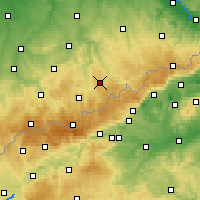 Nearby Forecast Locations - Marienberg - Carte