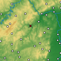 Nearby Forecast Locations - Bad Sobernheim - Carte