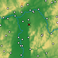 Nearby Forecast Locations - Geisenheim - Carte