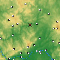 Nearby Forecast Locations - Wetzlar - Carte