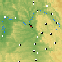 Nearby Forecast Locations - Bamberg - Carte