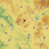 Nearby Forecast Locations - Wunsiedel - Carte