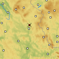 Nearby Forecast Locations - Grafenwöhr - Carte