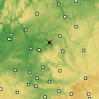 Nearby Forecast Locations - Öhringen - Carte