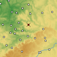 Nearby Forecast Locations - Kaisersbach - Carte