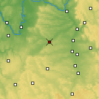 Nearby Forecast Locations - Illesheim - Carte