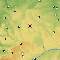 Nearby Forecast Locations - Feuchtwangen - Carte